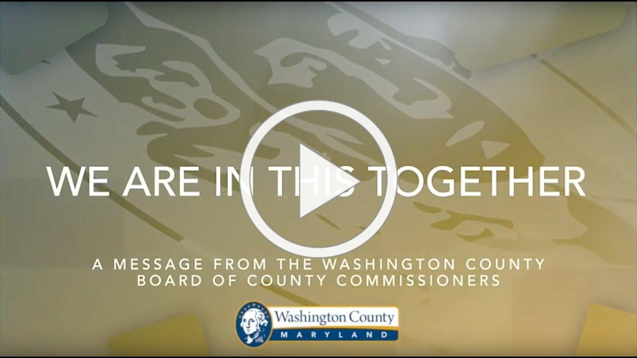 A Special Message from Washington County's Board of Commissioners
