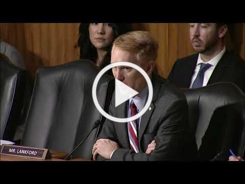 Senator Lankford Urges Yes Vote on USMCA