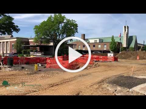 Maple Road Reconstruction Progress - June 5, 2020