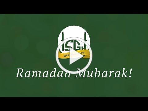 Ramadan Mubarak from ISGH