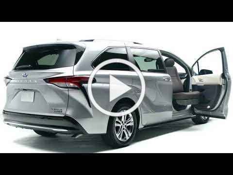 2021 BraunAbility Toyota with Turny Evo