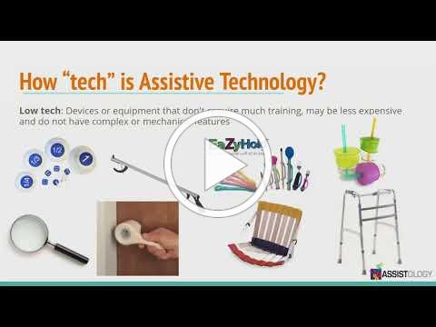 Assistive Technology and how to effectively obtain it