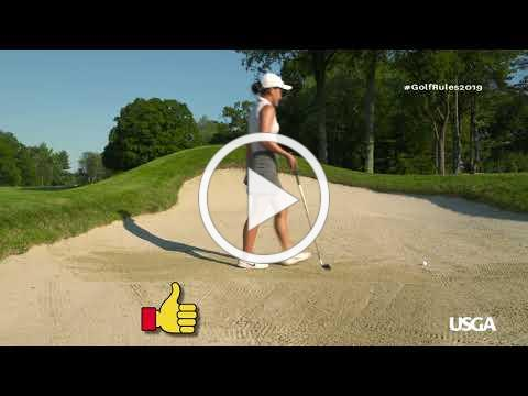 Rules of Golf Explained: Bunkers (New for 2019)