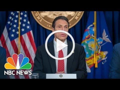 Live: NY Gov. Andrew Cuomo Holds Coronavirus Briefing   NBC News
