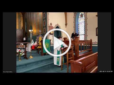Grace Episcopal Church, Galena IL, Transfiguration 2021