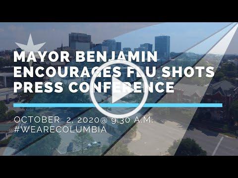 Mayor Benjamin Encourages Flu Shots | Press Conference