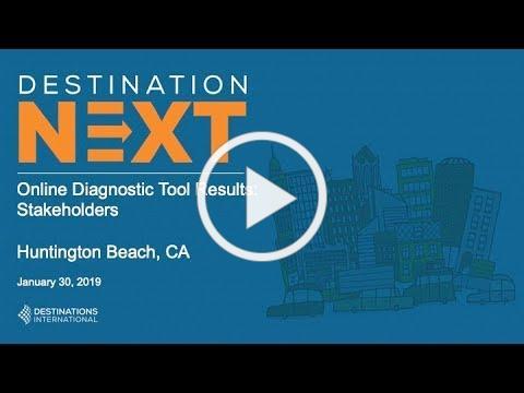Visit Huntington Beach Sponsors DestinationNEXT Assessment of Local Tourism Industry