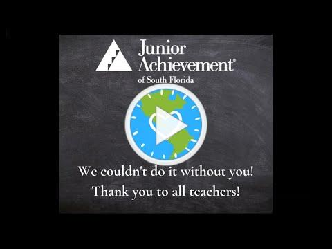 Junior Achievement Celebrates Teacher Appreciation Week 2020