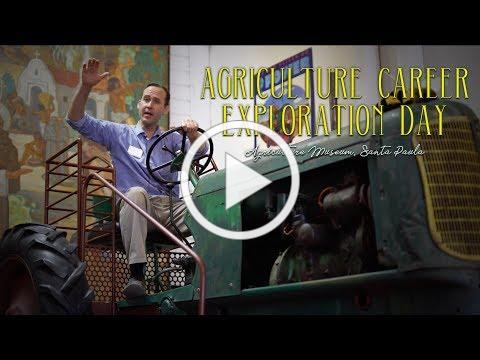 3rd Annual Agriculture Career Exploration Day at the Ag!