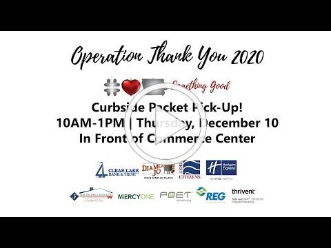Operation Thank You Greeting 2020