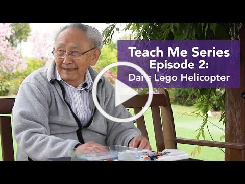 Teach Me Series: Dai's Lego Helicopter