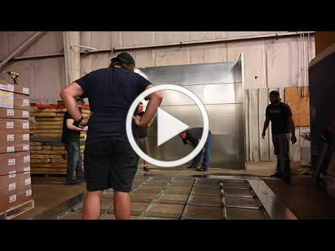 ACEnet Nelsonville Wood Manufacturing Spray Booth