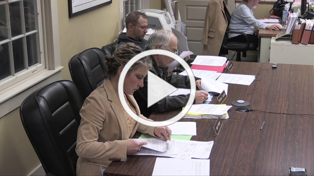 Halifax Planning Board 2020/01/02