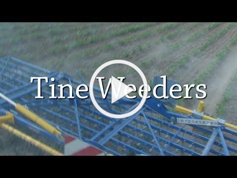 Tine Weeders - Organic Weed Control