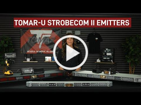 TOMAR STROBECOM II Optical Traffic Preemption Emitters for Emergency and Transit Vehicles
