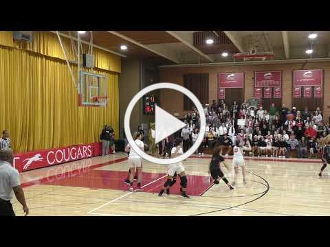 Buzzer Beater lifts Cougars to 50-48 win.