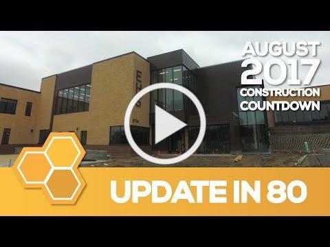 EPS Construction Update in 80 - Edina High School (Aug 2017)