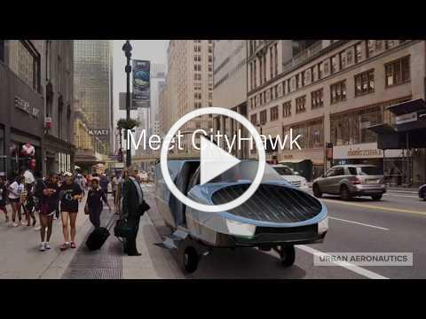 CityHawk: Hydrogen Powered, Door-to-Door Aerial Mobility. Fly Anywhere, Land Anywhere