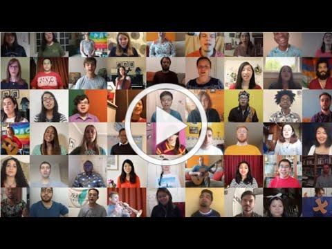 Taizé - virtual choir : Veni Sancte Spiritus