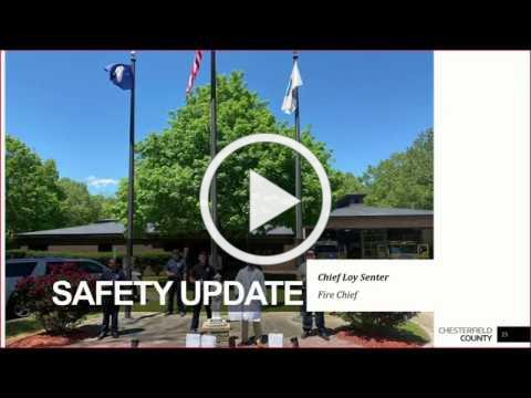 Board of Supervisors 5/27/2020 Safety Update on COVID-19