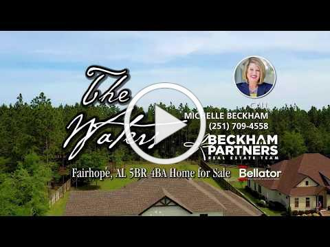 2020 Fairhope Homes for Sale: The Waters! 5BR 4BA Listed by Agent, Michelle Beckham