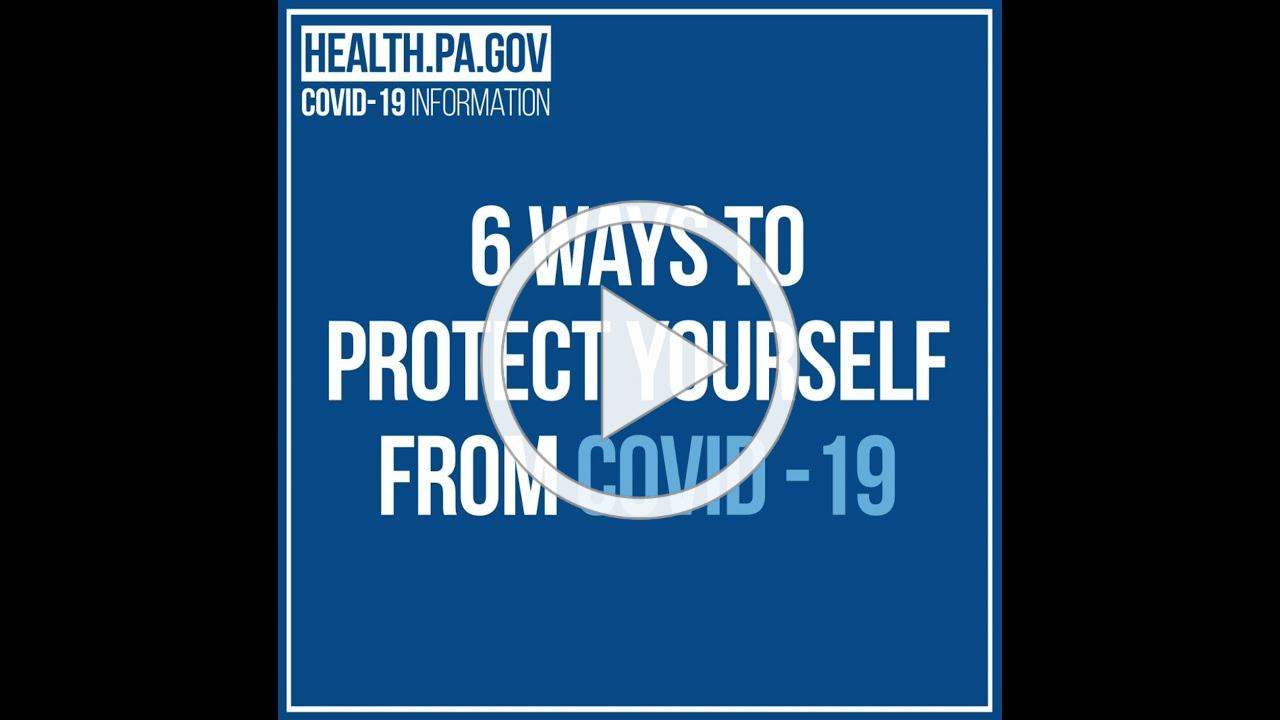 Six ways to protect yourself from Covid-19