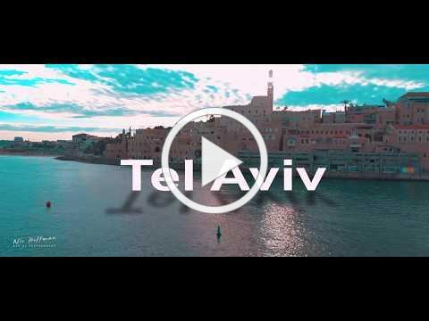 Tel Aviv-jaffa at sunrise dji phantom 4 pro