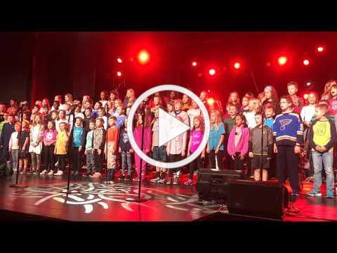 2019 All-School Chapel Elementary Choir