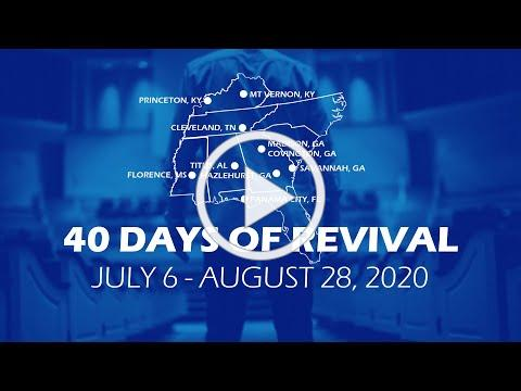 40 Days of Revival for Men July 6 - August 28, 2020
