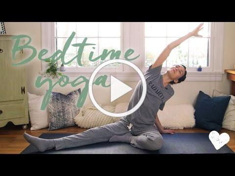 Yoga For Bedtime - 20-Minute Practice with Adriene