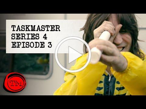Taskmaster - Series 4, Episode 3 'Hollowing Out A Baguette'