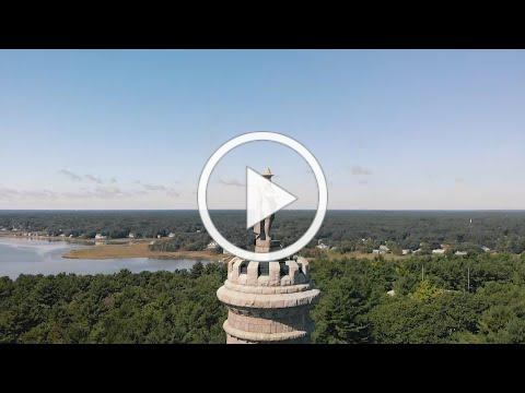 Monumental History at the Myles Standish Monument