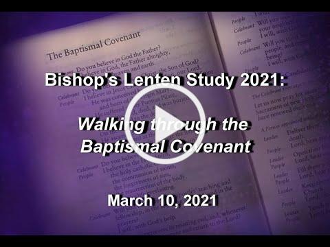 Bishop's Message Wednesday 3 10 21