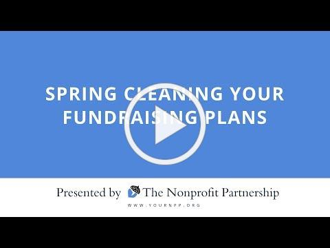 Spring Cleaning Your Fundraising Plans | Shannon Wohlford