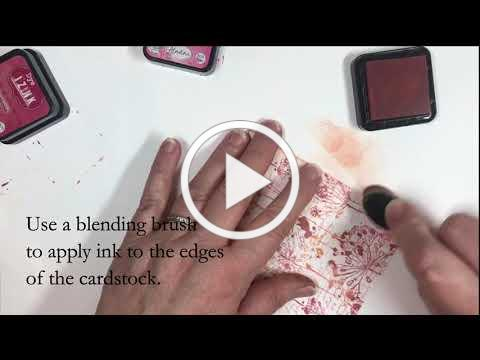 Easy Background Stamp Layering with Technique Junkies