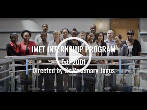 IMET Summer Internship