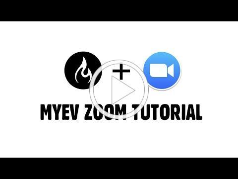 MYEV Zoom Student Tutorial