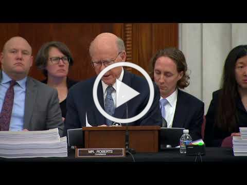 Senator Roberts Farm Bill Conference Committee Meeting Opening Remarks