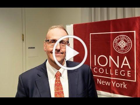 Dr. William Lamb, New Dean at Iona College School of Business