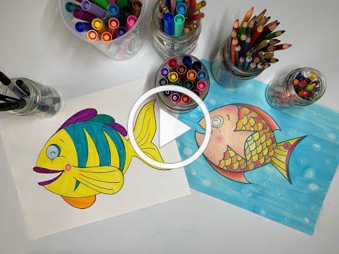 YAS at Home: Fish Drawing