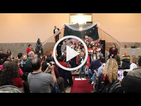 Christmas Village Italian Language Program Presentation, December 1, 2019 11