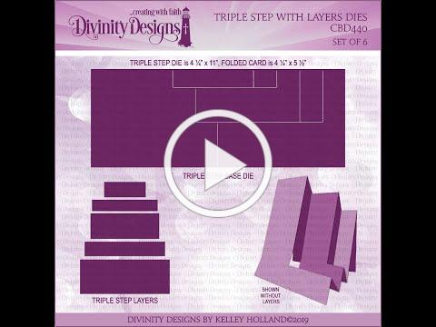 Divinity Designs Triple Step with Layers Die