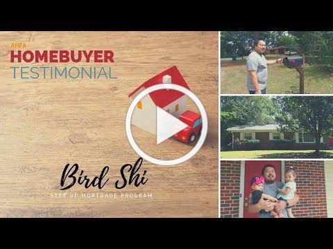 Homebuyer Testimonial: Bird Shi, Dadeville