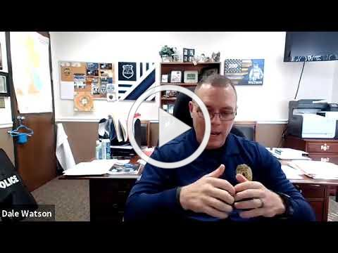 Virtual Mixer #27 - Mount Airy Police Chief, Dale Watson (Part 1 of 2)