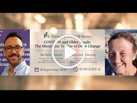 IFA Virtual Town Hall - COVID-19 and Older People: The Meningitis Tracker to Drive Change