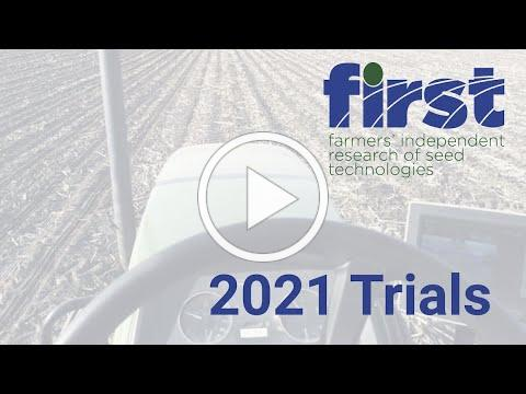 FIRST 2021 May Planting Progress