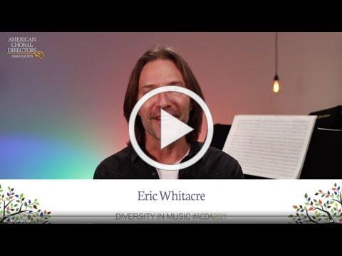 Keynote Address by Eric Whitacre