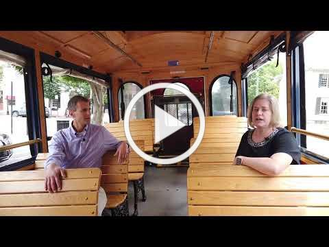 Free Friday and Saturday evening trolley in Fredericksburg
