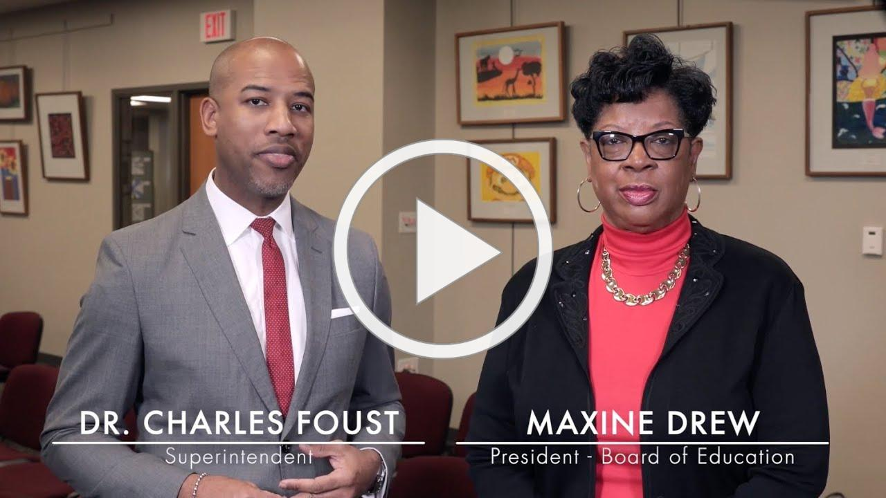 Black History Month - Message from Dr. Foust and Maxine Drew