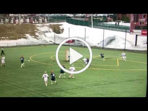 Hawks Coach - Shane Rinkus longpole goal